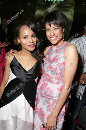 Kerry Washington and Writer/director Tina Gordon Chism at the Lionsgate Los Angeles Premiere of Peeples, on Wednesday, May, 8, 2013 in Los Angeles