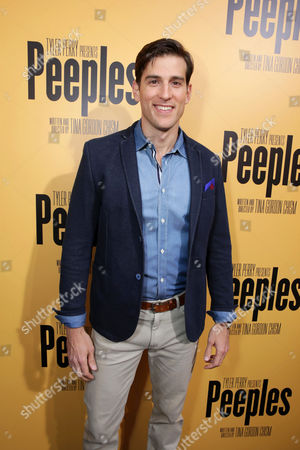 Stock Image of Jonathan Chase arrives at the Lionsgate Los Angeles Premiere of Peeples, on Wednesday, May, 8, 2013 in Los Angeles