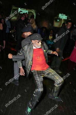 Mario Van Peebles and Melvin Van Peebles arrive at the Lionsgate Los Angeles Premiere of Peeples, on Wednesday, May, 8, 2013 in Los Angeles