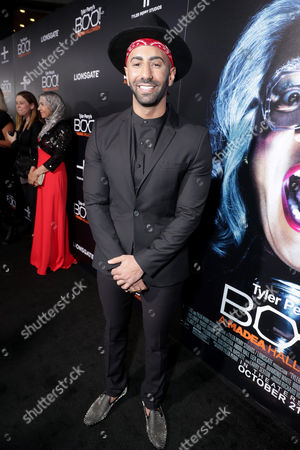 """Yousef Erakat seen at Lionsgate Presents the World Premiere of Tyler Perry's """"Boo! A Madea Halloween"""" at ArcLight Cinerama Dome, in Los Angeles"""