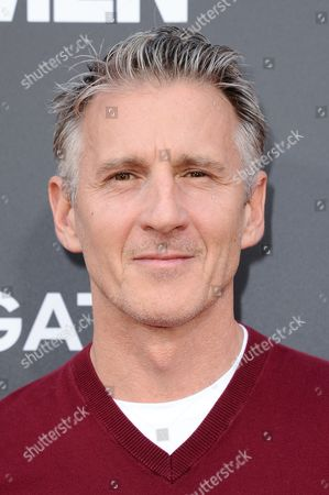 "Chris Stanley arrives at the Live Read And Series Finale Of ""Mad Men"" held at The Theatre at Ace Hotel, in Los Angeles"