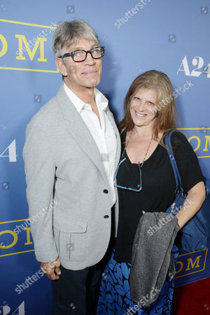 Eric Roberts and Eliza Roberts seen at the Los Angeles Premiere of A24's 'Room' at the Pacific Design Center on in West Hollywood, Calif