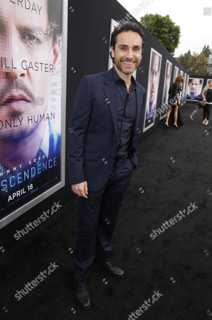 Antonio Del Prete seen at the Los Angeles Premiere of Alcon Entertainment's 'Transcendence', on in Westwood, Calif