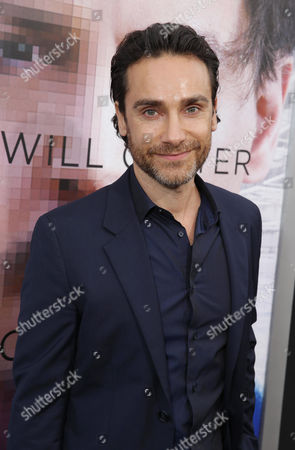 Stock Image of Antonio Del Prete seen at the Los Angeles Premiere of Alcon Entertainment's 'Transcendence', on in Westwood, Calif