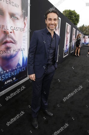 Stock Photo of Antonio Del Prete seen at the Los Angeles Premiere of Alcon Entertainment's 'Transcendence', on in Westwood, Calif