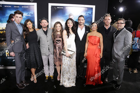 Matthew Beard, Thandiwe Newton, Ian Hart, Sarah Jeffery, Leah Gibson, Joshua Sasse, Claudia Ferri, Marton Csokas and Kavan Smith at the Los Angeles Premiere of DirecTV original series ROGUE, on Tuesday, March, 26, 2013 in Los Angeles held at Arclight Hollywood
