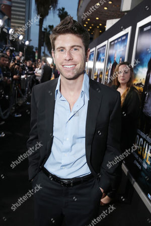 Jordan Wall at the Los Angeles Premiere of DirecTV original series ROGUE, on Tuesday, March, 26, 2013 in Los Angeles held at Arclight Hollywood