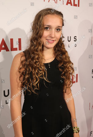 """Michelle DeShon seen at the Los Angeles Premiere of Focus World's """"I Am Ali"""" on Wed, in Hollywood"""