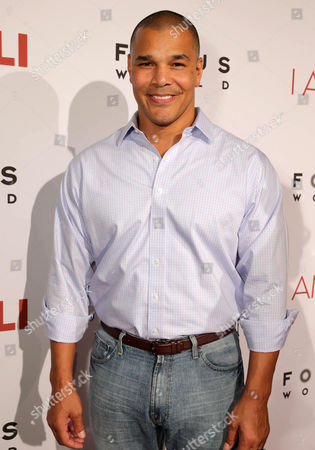 """Geno Segers seen at the Los Angeles Premiere of Focus World's """"I Am Ali"""" on Wed, in Hollywood"""