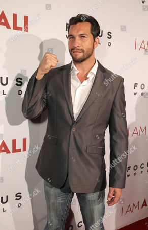 """Marcus Shirock seen at the Los Angeles Premiere of Focus World's """"I Am Ali"""" on Wed, in Hollywood"""