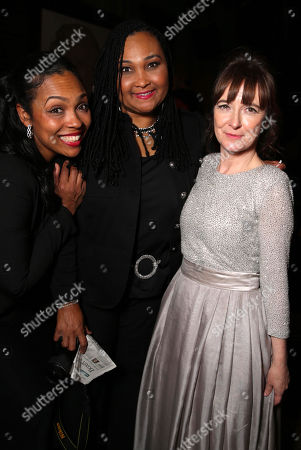 """Hana Ali, Maryum Ali and Director/Writer Clare Lewins seen at the Los Angeles Premiere of Focus World's """"I Am Ali"""" on Wed, in Hollywood"""