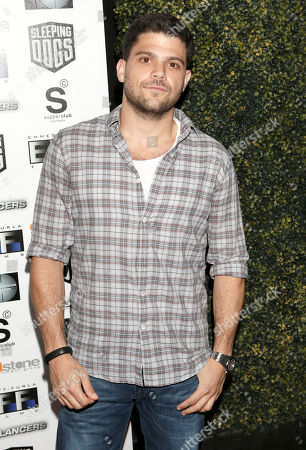 """Jerry Ferrera attends the Los Angeles Screening of """"Freelancers"""" at the Chinese Mann 6, in Los Angeles, Ca"""