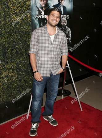 """Stock Picture of Jerry Ferrera attends the Los Angeles Screening of """"Freelancers"""" at the Chinese Mann 6, in Los Angeles, Ca"""