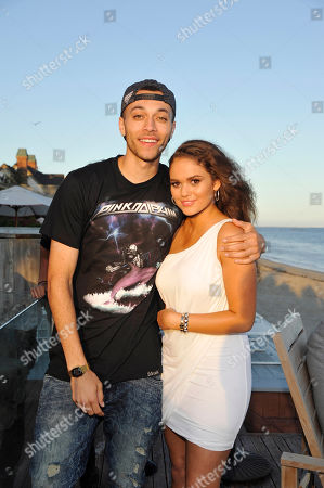 Kalin White and Madison Pettis seen at Madison Pettis Celebrates her 17th Birthday at the Kia Beach House presented by Cargo Cosmetics, in Malibu, Calif