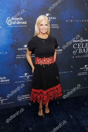 """Monica Potter arrives at the March of Dimes """"Celebration of Babies: A Hollywood Luncheon"""" at the Beverly Wilshire Hotel, in Beverly Hills, Calif"""