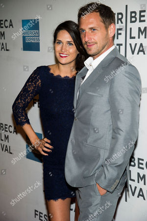 """Josh Lucas and Jessica Henriquez attend the premiere of """"Mistaken For Strangers"""" during the opening night of the 2013 Tribeca Film Festival on in New York"""