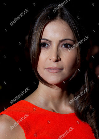 Actress Anouska Mond arrives for the 2012 MOBO Awards at the Echo Arena in Liverpool