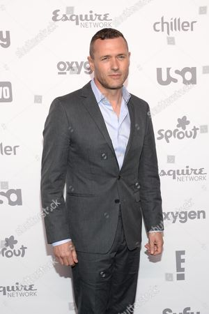 Actor Jason O'Mara attends the NBCUniversal Cable Entertainment 2015 Upfront at The Javits Center, in New York