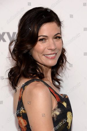 """Lauren Stamile of """"Complications"""" attends the NBCUniversal Cable Entertainment 2015 Upfront at The Javits Center, in New York"""