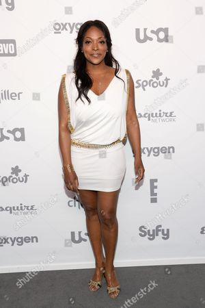 Stock Photo of Kellita Smith attends the NBCUniversal Cable Entertainment 2015 Upfront at The Javits Center, in New York