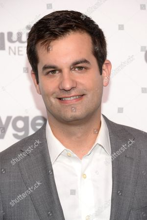 Michael Kosta attends the NBCUniversal Cable Entertainment 2015 Upfront at The Javits Center, in New York