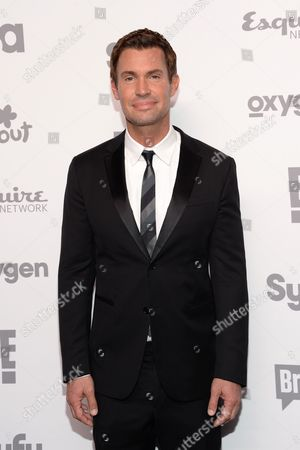 Jeff Lewis attends the NBCUniversal Cable Entertainment 2015 Upfront at The Javits Center, in New York