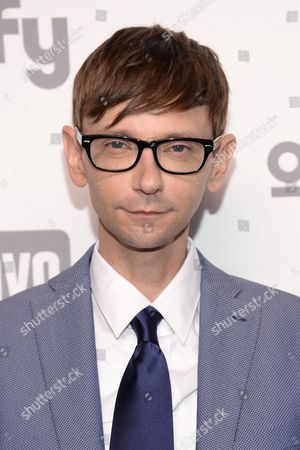 DJ Qualls attends the NBCUniversal Cable Entertainment 2015 Upfront at The Javits Center, in New York