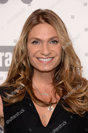 """Heather Thomson of """"Real Housewives of New York City"""" attends the NBCUniversal Cable Entertainment 2015 Upfront at The Javits Center, in New York"""