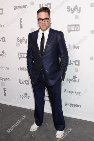 Chef Ilan Hall attends the NBCUniversal Cable Entertainment 2015 Upfront at The Javits Center, in New York