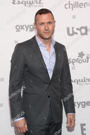 Actor Jason O'Mara attends the NBCUniversal Cable Entertainment 2015 Upfront at The Jacob Javits Center, in New York