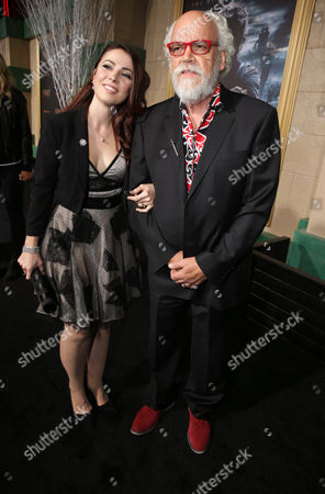 Stock Picture of Georgia Allen and John Callen seen at New Line Cinema and Metro-Goldwyn-Mayer Pictures presents the Los Angeles Premiere of 'The Hobbit: The Battle of The Five Armies', in Los Angeles