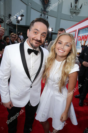 Director/Screenwriter/Executive Producer Ben Falcone and Mia Rose Frampton seen at the New Line Cinema Premiere of 'Tammy' held at the TCL Chinese Theatre on ], in Hollywood