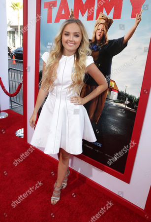 Mia Rose Frampton seen at the New Line Cinema Premiere of 'Tammy' held at the TCL Chinese Theatre on ], in Hollywood