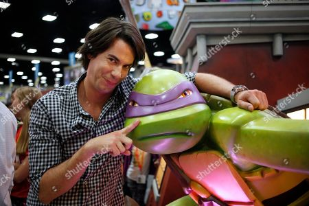 Actor Jerry Trainor attends Nickelodeon at Comic-Con, in San Diego, Calif