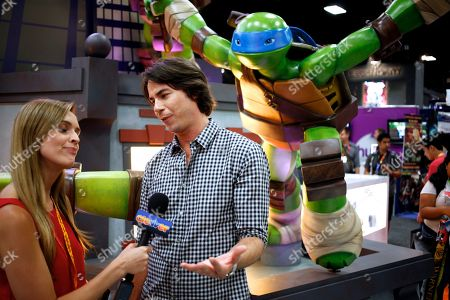 Stock Photo of Actor Jerry Trainor attends Nickelodeon at Comic-Con, in San Diego, Calif
