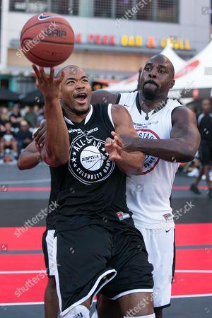 Editorial photo of Nike Basketball 3ON3 Tournament - ESPNLA 710 All-Star Celebrity Game, Los Angeles, USA