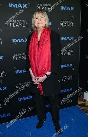 """Stock Photo of Director Toni Myers attends the premiere of """"A Beautiful Planet"""" at AMC Loews Lincoln Square, in New York"""