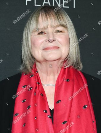 """Director Toni Myers attends the premiere of """"A Beautiful Planet"""" at AMC Loews Lincoln Square, in New York"""