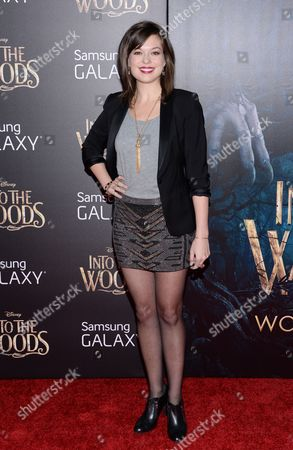"""Margo Seibert attends the premiere of """"Into The Woods"""" at the Ziegfeld Theatre, in New York"""