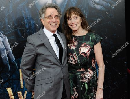 """Stock Image of Chip Zien attends the premiere of """"Into The Woods"""" at the Ziegfeld Theatre, in New York"""