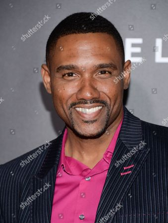 """Stock Image of Actor Kent Faulcon attends the premiere of """"Selma"""" at the Ziegfeld Theatre, in New York"""