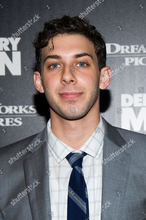 """Stock Picture of Amos VanderPoel attends a screening of """"Delivery Man"""" hosted by The Cinema Society and DreamWorks Pictures on in New York"""