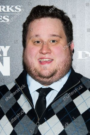 """Stock Image of Derrick Arthur attends a screening of """"Delivery Man"""" hosted by The Cinema Society and DreamWorks Pictures on in New York"""