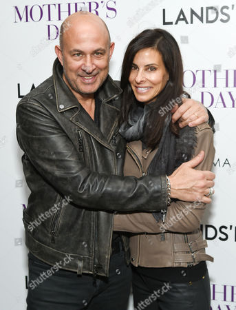 "John Varvatos and wife Joyce Zybelberg Varvatos attend the special screening of ""Mother's Day"" at Metrograph, in New York"