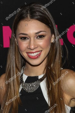 Singer Celine Polenghi of Sweet Suspense arrives at the NYLON December/January Cover Launch Party Sponsored by McDonald's at Quixote Studios on in West Hollywood, CA