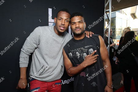 """Marlon Wayans and Damien Wayans seen at Open Road Films Los Angeles Premiere of """"Dope"""" in partnership with the LA Film Fest, in Los Angeles"""
