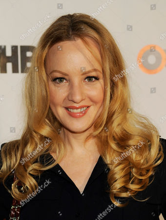 Stock Photo of Actress Wendy McLendon Covey poses at the Outfest 2014 Fusion LGBT People of Color Film Festival, in Los Angeles