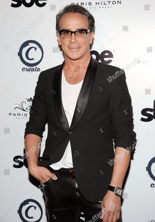 Lloyd Klein arrives at Paris Hilton's single release party at the Create Hollywood Night Club on in Los Angeles