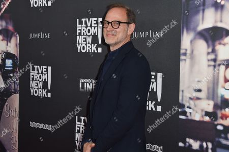 "Tom Broecker arrives at the Los Angeles Premiere Of ""Live from New York!"" - Arrivals at Landmark Theatres, Westside Pavilion, in Los Angeles"