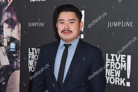"Bao Nguyen arrives at the Los Angeles Premiere Of ""Live from New York!"" - Arrivals at Landmark Theatres, Westside Pavilion, in Los Angeles"